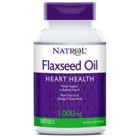 Natrol Flaxseed Oil 1000mg kapslid (200 tk)