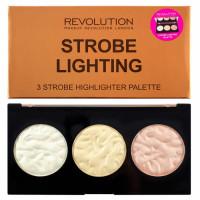 Makeup Revolution Strobe Highlighter palett, Lighting (11.5 g)