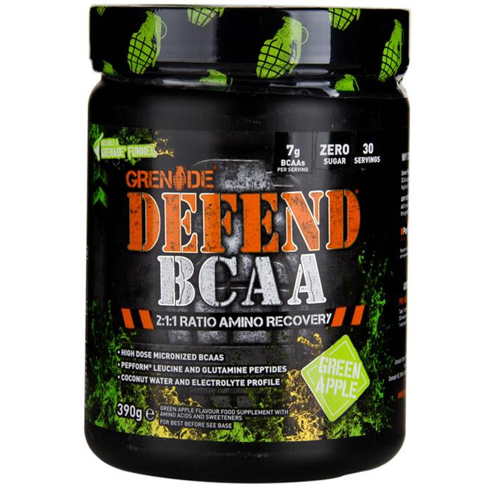 Grenade Defend BCAA, Green Apple (390 g)