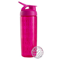 BlenderBottle SportMixer Signature Sleek šeiker/joogipudel, Geo Lace Pink (820 ml)
