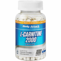 Body Attack L-Carnitine 2000 kapslid (100 tk)