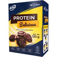 6PAK Protein Delicious proteiiniküpsised (120 g)