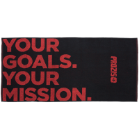Prozis 'Your Goals. Your Mission' trennirätik (50 x 100 cm)