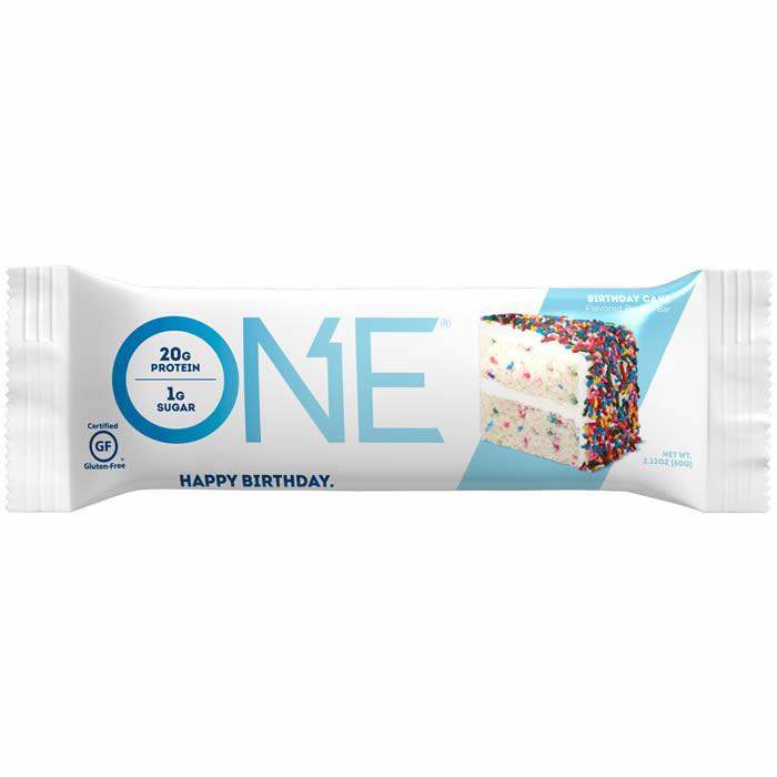 OhYeah! Nutrition ONE Bar valgubatoon, Sünnipäevakoogi (60 g)