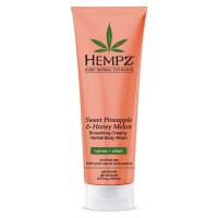 Hempz Sweet Pineapple & Honey Melon Smoothing Creamy Herbal dušigeel (250 ml)