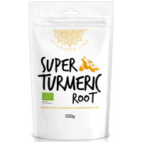Diet Food Bio Super Turmeric Root kurkumijuure pulber (200 g).