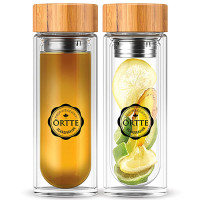 Örtte Natural Tea Infuser Bottle (450 ml)