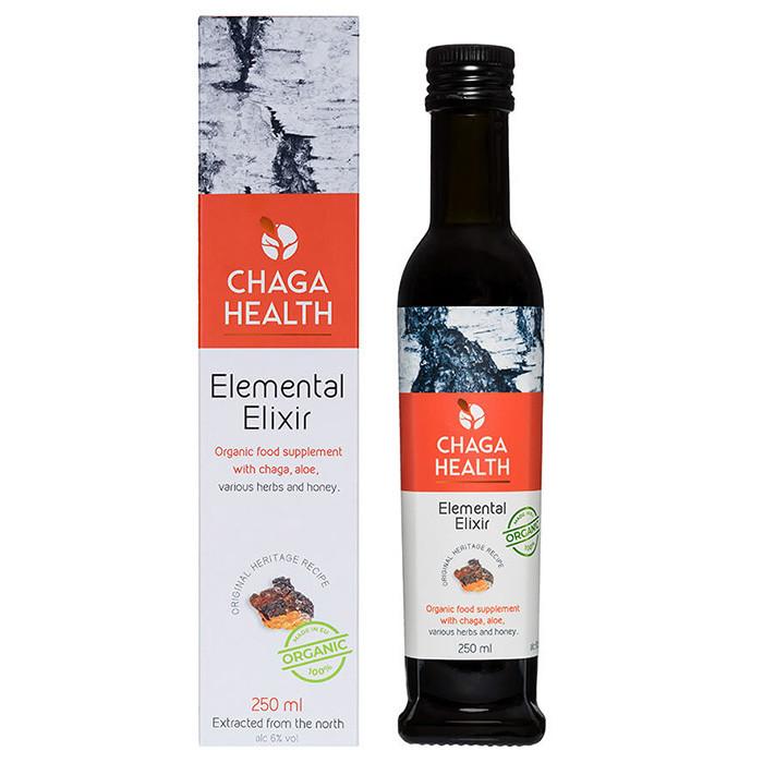 Chaga Health Elemental Eliksiir, alk 6% vol, MAHE (250 ml)