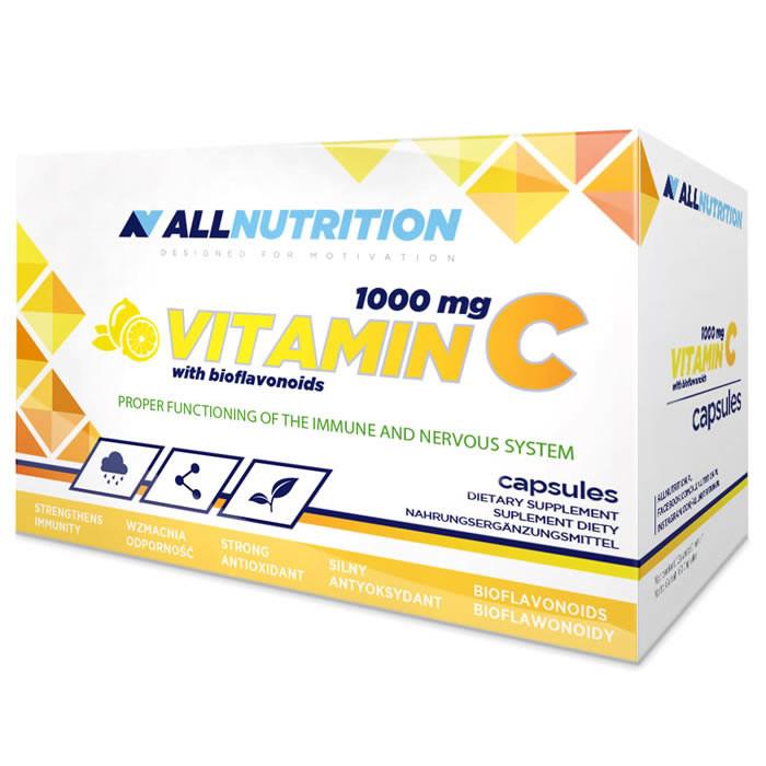 AllNutrition Vitamin C 1000 mg kapslid bioflavonoididega (60 tk)