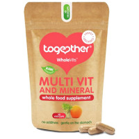 Together Health WholeVits™ orgaaniline multivitamiinide ja mineraalide kompleks kapslid (30 tk)