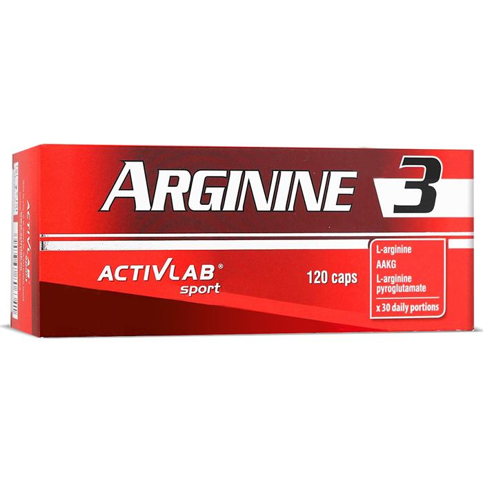 ActivLab Arginine 3 kapslid (120 tk)