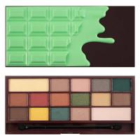 Makeup Revolution I Heart Makeup lauvärvipalett, Mint Chocolate (22 g)