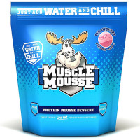 Muscle Moose Muscle Mousse valgurikas dessertpulber, Maasika (750 g)