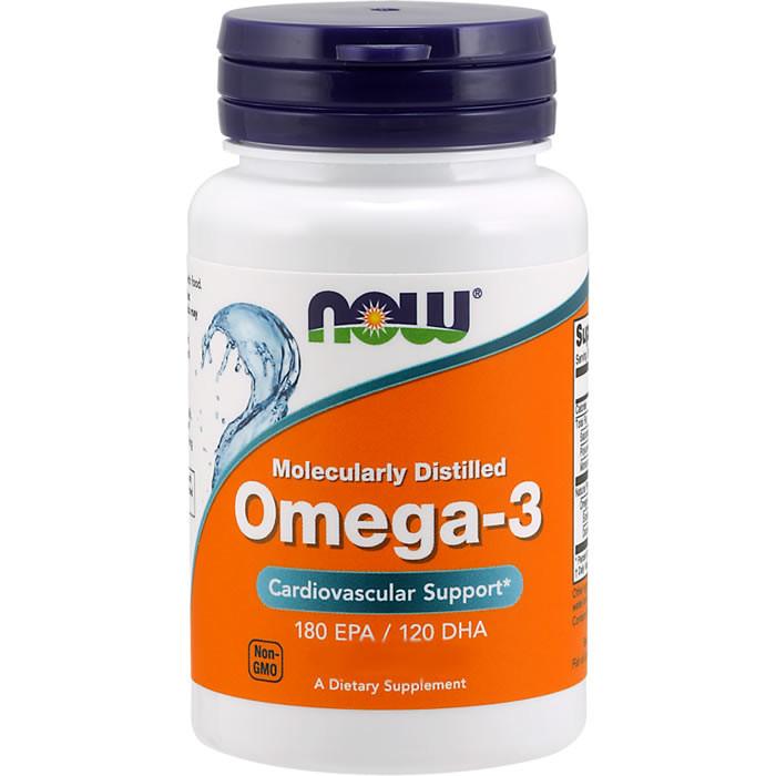 NOW Omega-3 õlikapslid (100 tk)