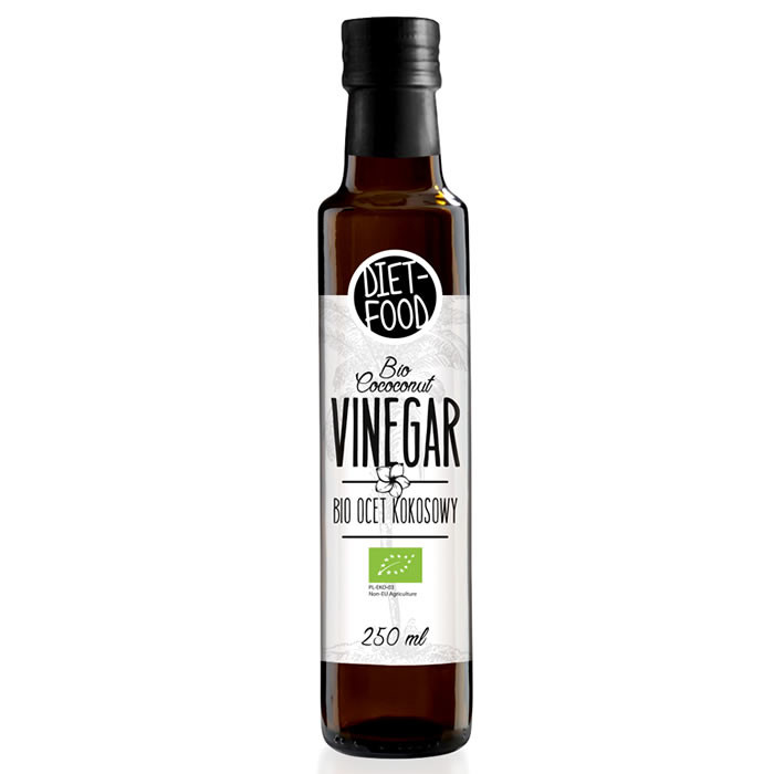 Diet Food Bio Coconut Vinegar kookosäädikas (250 ml)