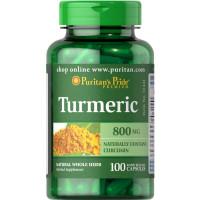 Puritan's Pride Turmeric kurkumi kapslid (100 tk)