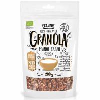Diet Food Organic Crispy Granola müslisegu, Peanut Cream (200 g)