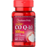 Puritan's Pride Q-sorb CO Q-10 100 mg õlikapslid (60 tk)