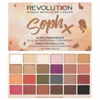 Makeup Revolution Soph X Ultra lauvärvide palett (26.4 g)