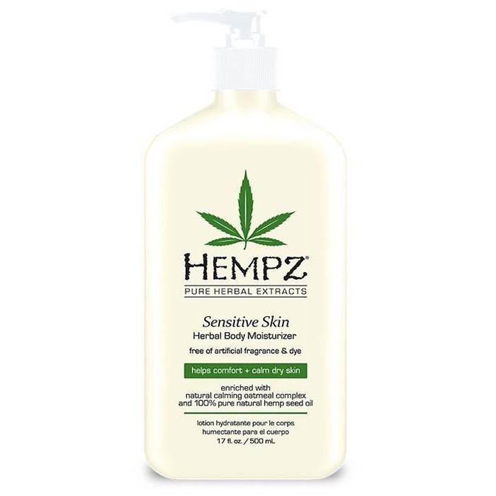 Hempz Sensitive Skin Herbal kehaniisutaja (500 ml)