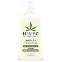 Hempz Sensitive Skin Herbal kehaniisutaja (500 ml)