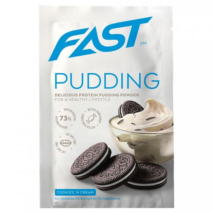 Fast Pudding Deluxe valgu pudingupulber, Kreemiküpsise (30 g)