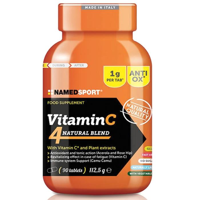 NamedSport Vitamin C 4Natural Blend tabletid (90 tk)