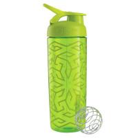 BlenderBottle SportMixer Signature Sleek šeiker/joogipudel, Zen Gala Green (820 ml)