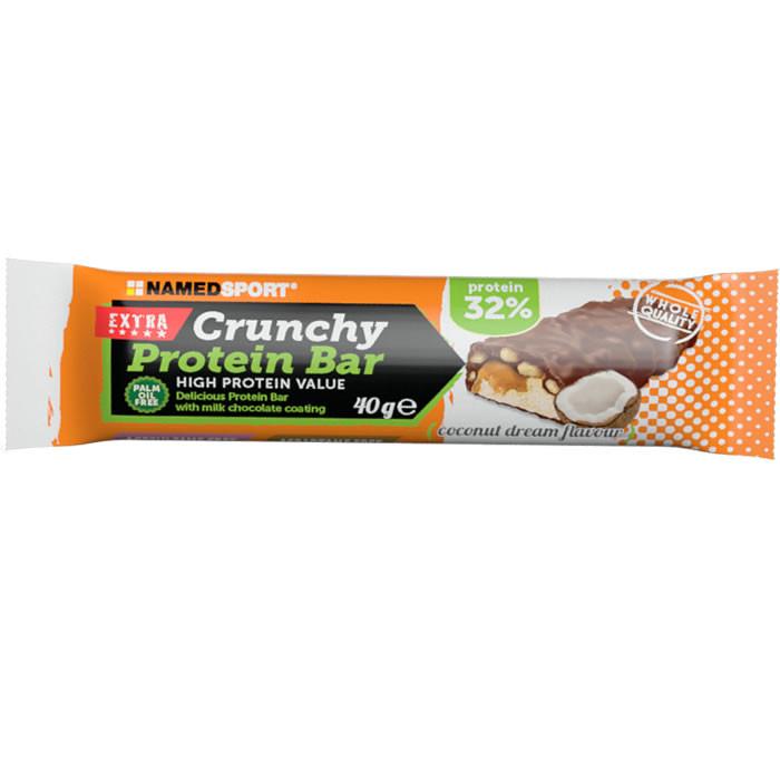 NamedSport Crunchy Proteinbar 32% valgubatoon, Coconut Dream (40 g)
