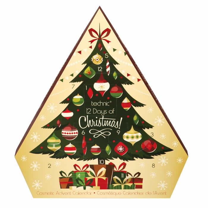 Technic 12 Days of Christmas advendikalender kosmeetika toodetega