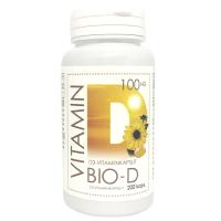 Natura Media D-vitamiini õlikapslid 4000 IU (200 tk)