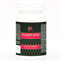 Placent Activ Milano juuksekasvu vitamiinid (60 tk)