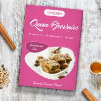 GymQueen Queen Protein Brownies, Snickerdoodle (500 g)