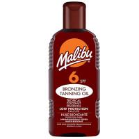 Malibu SPF 6 Bronzing Tanning Oil pruunistajatega päevitusõli (200 ml)