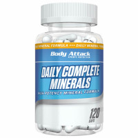 Body Attack Daily Complete Minerals kapslid (120 tk)
