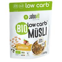 JabuVit Low Carb muesli madala süsivesikusaldusega müsli, Klassikaline (500 g)