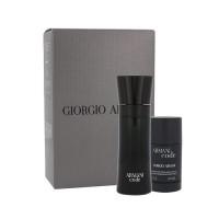 Giorgio Armani Black Code EDT, M (Komplekt EDT 75 ml + DST 75 ml)