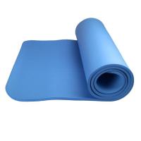 Power System Fitness Yoga Mat Plus võimlemismatt, Sinine (1 cm)