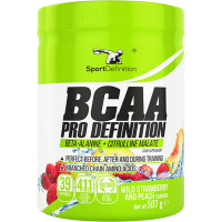 Sport Definition BCAA Pro Definition (4:1:1 instant + Beta-Alanine), Metsmaasika-virsiku (507 g)
