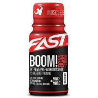 Fast BOOM BCAA + creatine treeningeelne shot, Marja (60 ml)