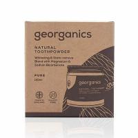 Georganics looduslik hambapulber, Puhas kookos (maitseta) (60 ml)