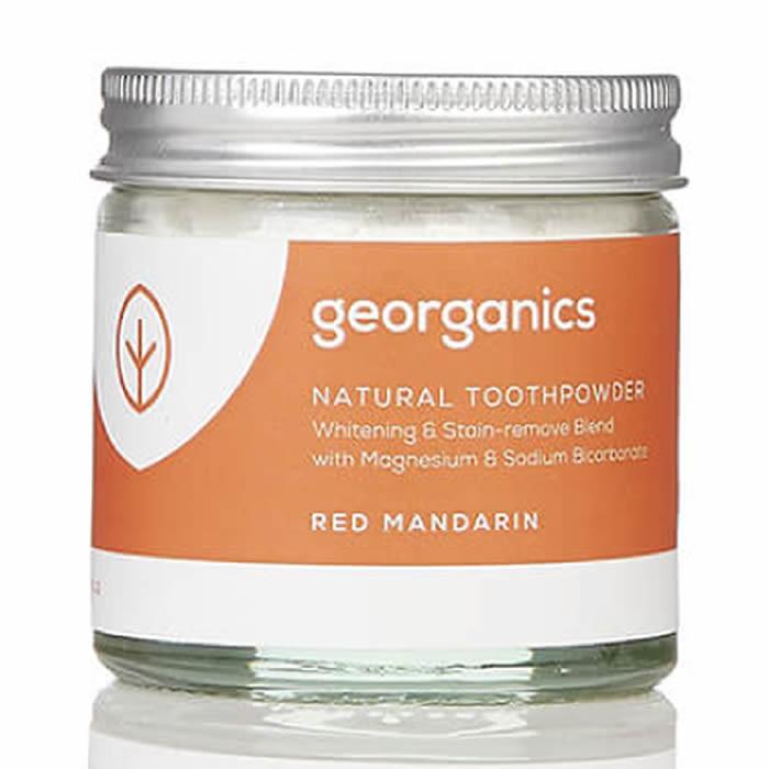 Georganics looduslik hambapulber, Punase mandariiniga (60 ml)