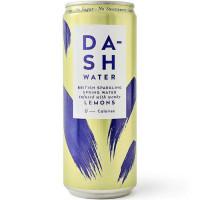 Dash karboniseeritud allikavesi, Sidruniekstraktiga (330 ml). Parim enne 02.2021.