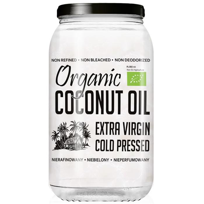 Diet Food Organic Coconut Oil Extra Virgin kookosõli (1000 ml)