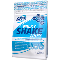 6PAK Nutrition Milky Shake Whey valgupulber, Vanilje (700 g)