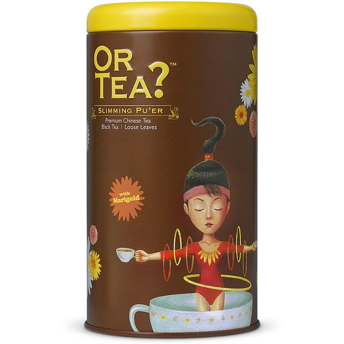 Or Tea? Slimming Pu ́er orgaaniline tee (75 g). Parim enne 12.2019
