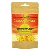 D-vitamiini D3 õlikapslid, 4000 IU (30 tk)