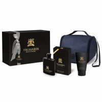 Trussardi Black Extreme EDT (50 ml) + SGE (100 ml) + Bag