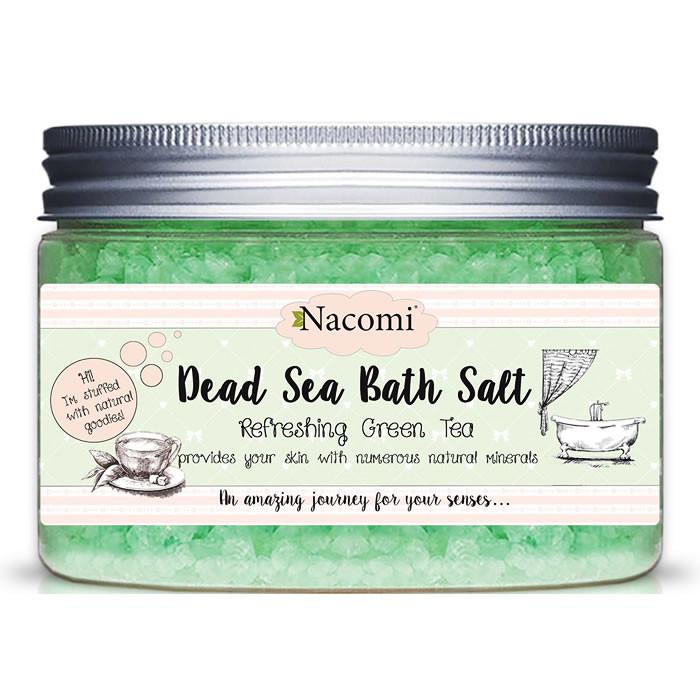 Nacomi looduslik Surnumere vannisool, Refreshing Green Tea (450 g)