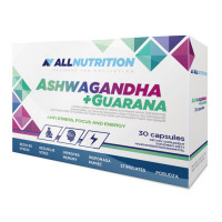 AllNutrition Ashwagandha 300 mg + Guarana kapslid (30 tk)